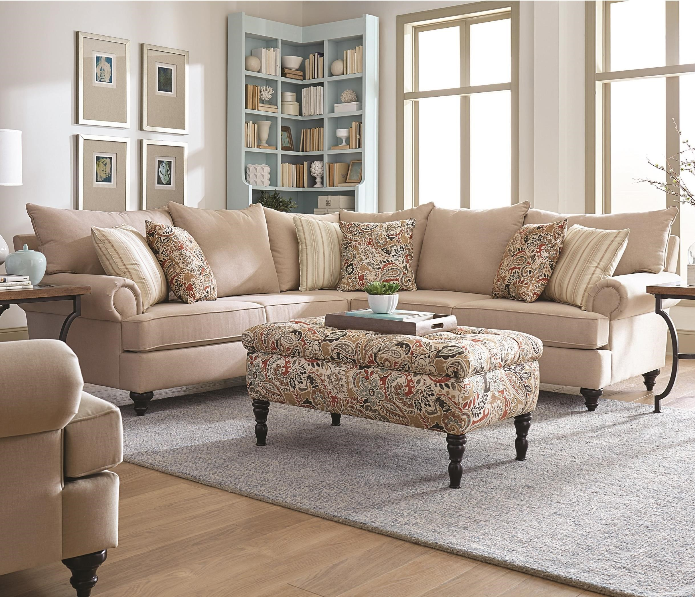 Charming England Rosalie Sectional Sofa