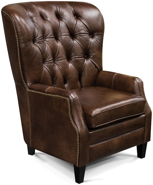 England Ryker Tufted-Back Den Room Chair