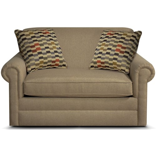 England Savona Air Twin Size Sleeper Sofa with Traditional Furniture Style