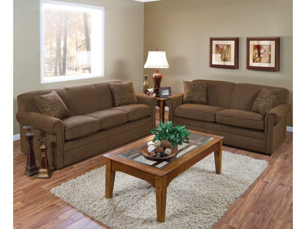 Shown in Living Room Setting with Matching Sofa
