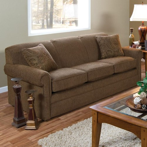 England Savona Air Queen Size Sleeper Sofa with Traditional Furniture Style