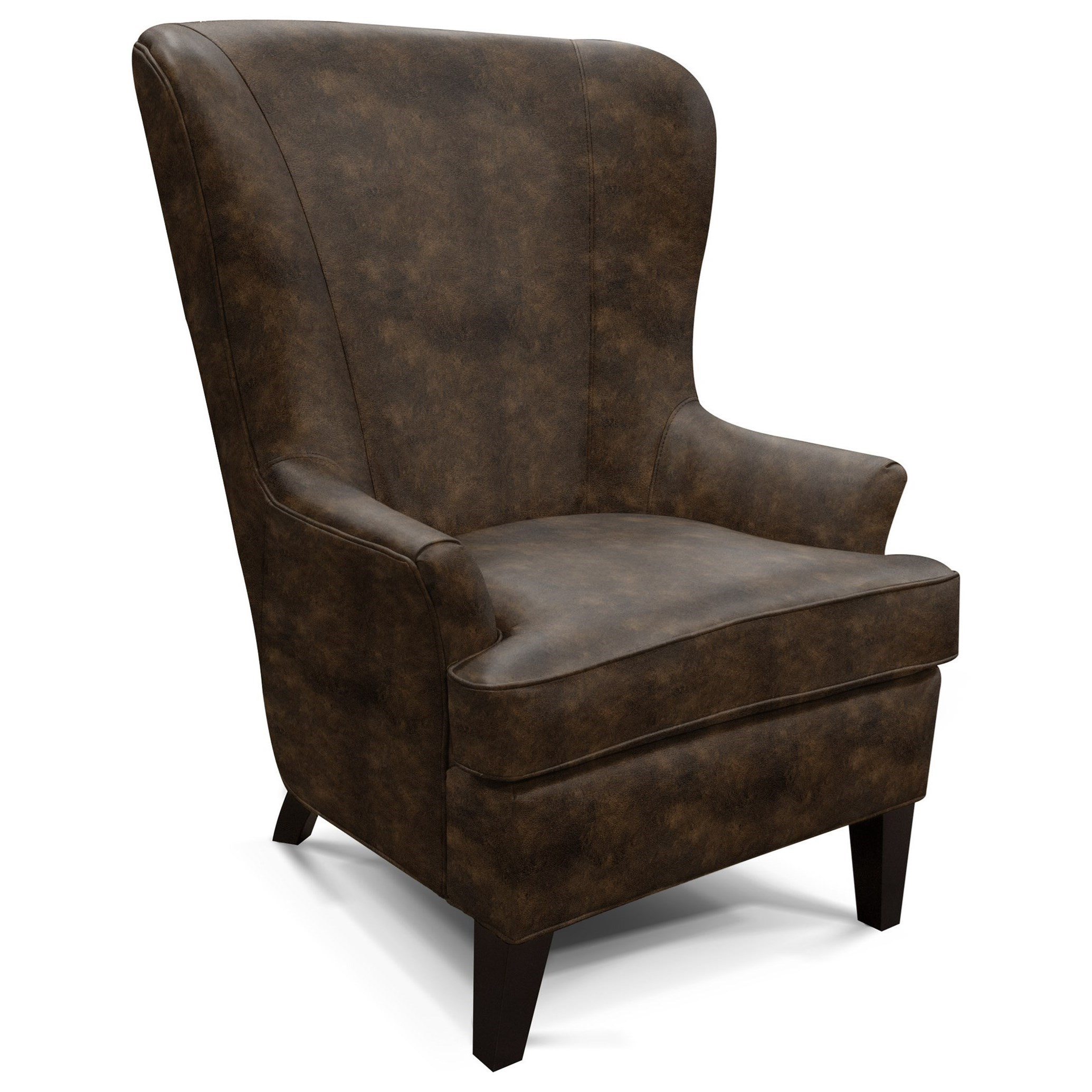 Wing Chair with Contemporary Style