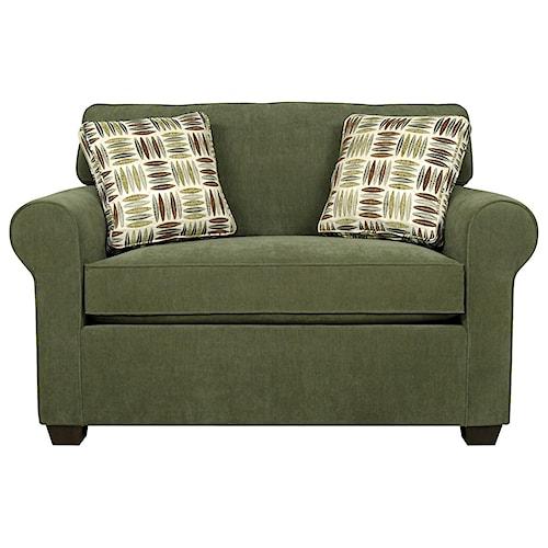 England Seabury Air Mattress Twin Size Sofa Sleeper For Living Rooms