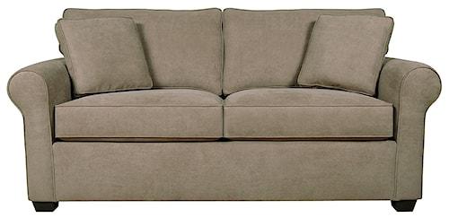 England Seabury Visco Mattress Full Size Sleeper Sofa with Family Room Style