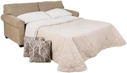 England Seabury Visco Mattress Queen Size Sofa Sleeper with Casual Style