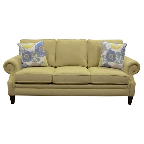 England Xandi Sofa With Customizable Fabric Options Furniture Superstore Rochester Mn