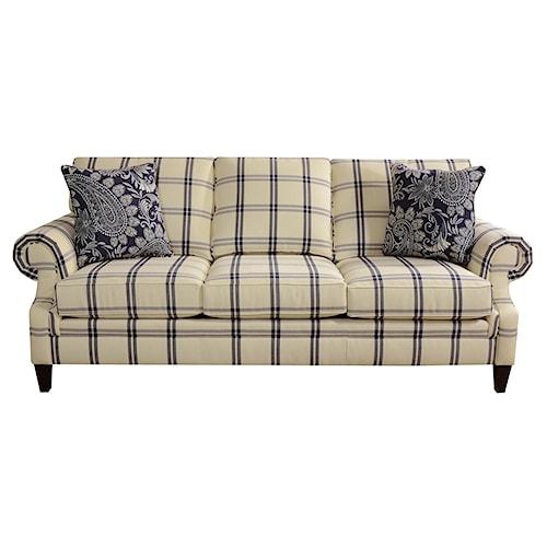 England Seals Sofa with Customizable Fabric Options
