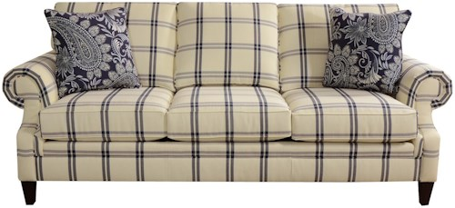 England Seals Sofa with Customizable Fabric Options