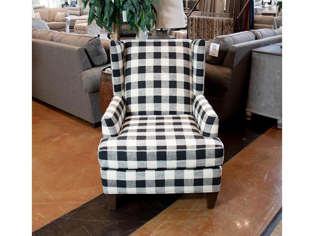 England ShipleyBlake Raven Wingback Chair
