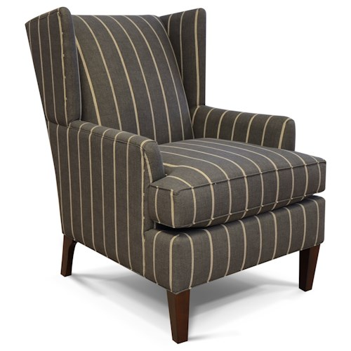 England Shipley Wing Back Arm Chair