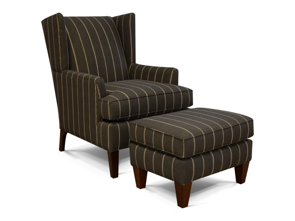England ShipleyWing Back Arm Chair