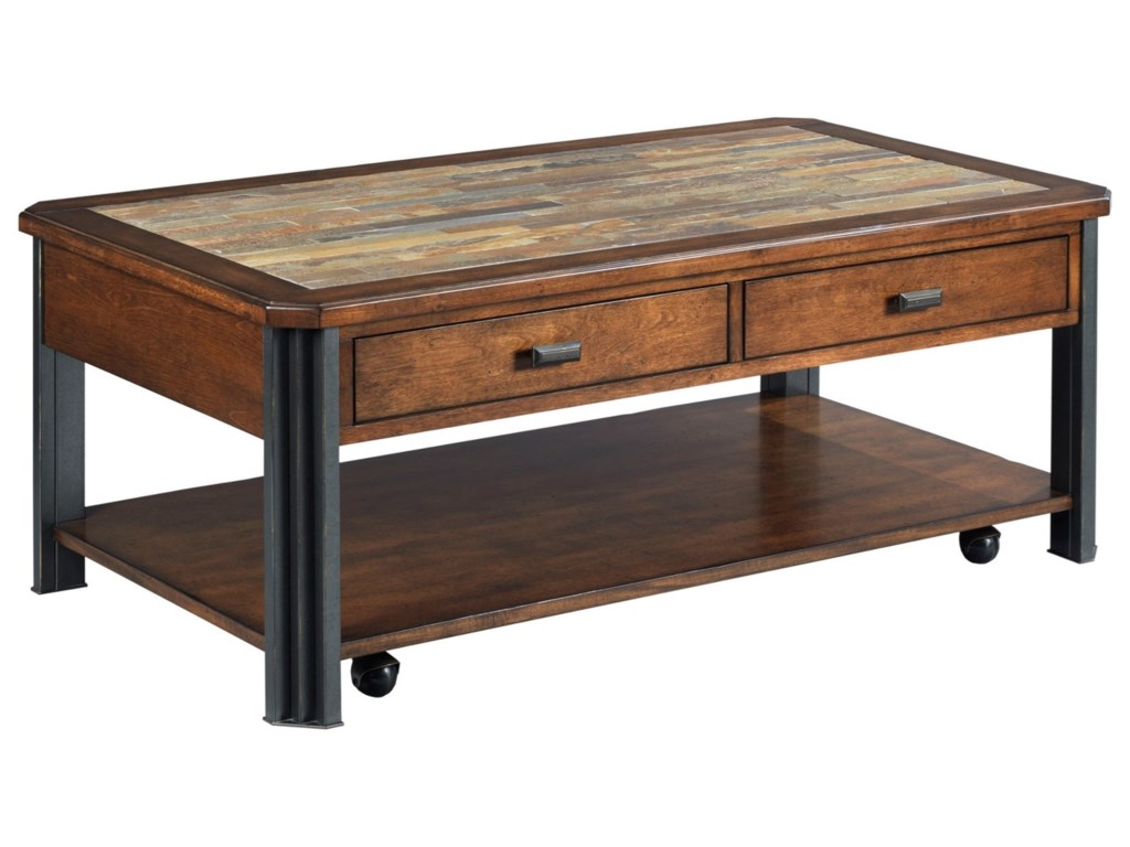 England SlatonRectangular Cocktail Table