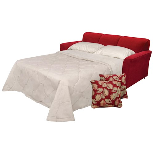 England Smyrna Queen Size Sleeper Sofa with Comfort 3 Mattress