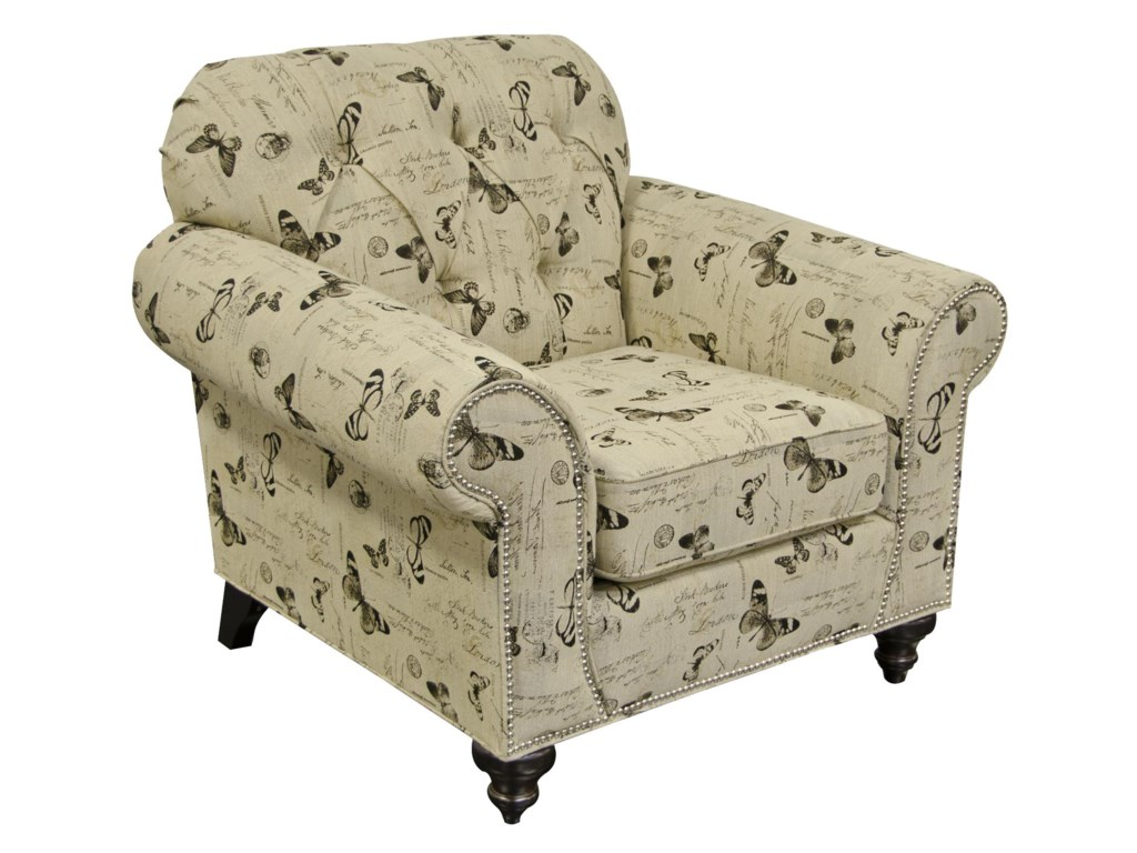 England StacyChair with Nailheads