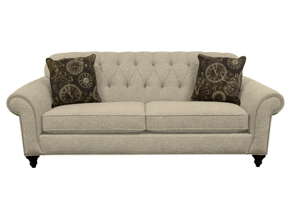 England StacySofa with Nailheads