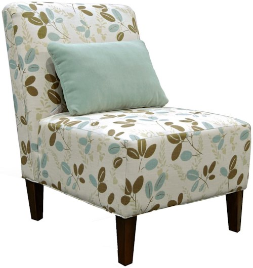 England Sunset Armless Contemporary Chair