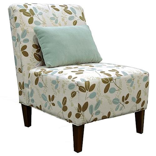 England Sunset Armless Contemporary Chair
