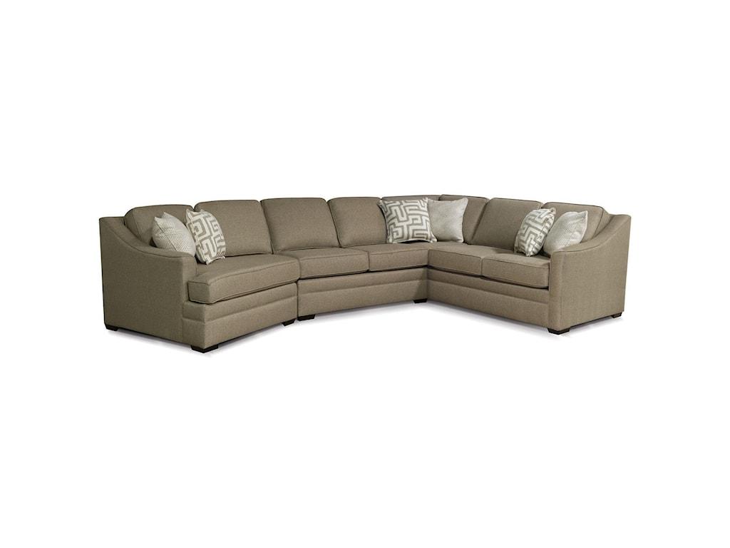 England ThomasSectional Sofa with Cuddler