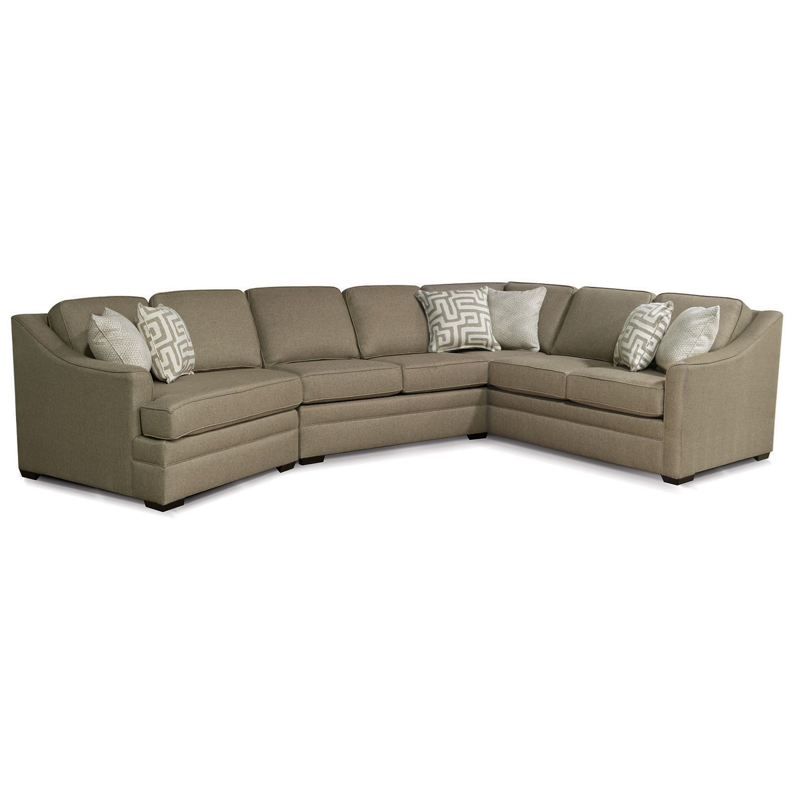 England ThomasSectional Sofa With Cuddler ...