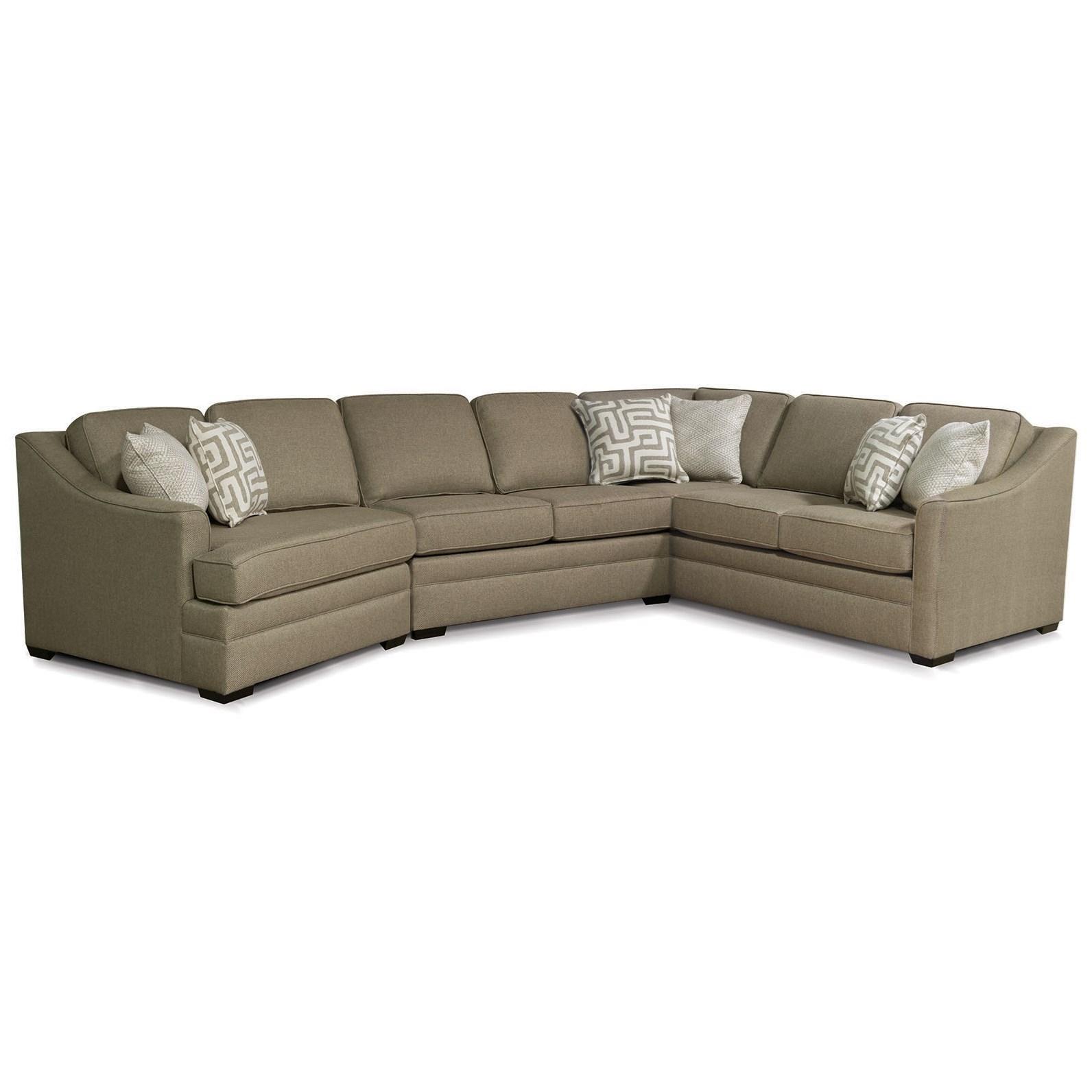 England Thomas Sectional Sofa With Cuddler
