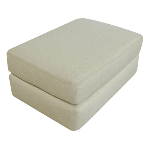 England Treece Ottoman with Casual Contemporary Style
