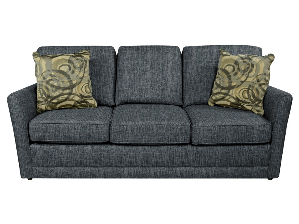 England Tripp Simple Sofa With Tapered Arms Moore S Home
