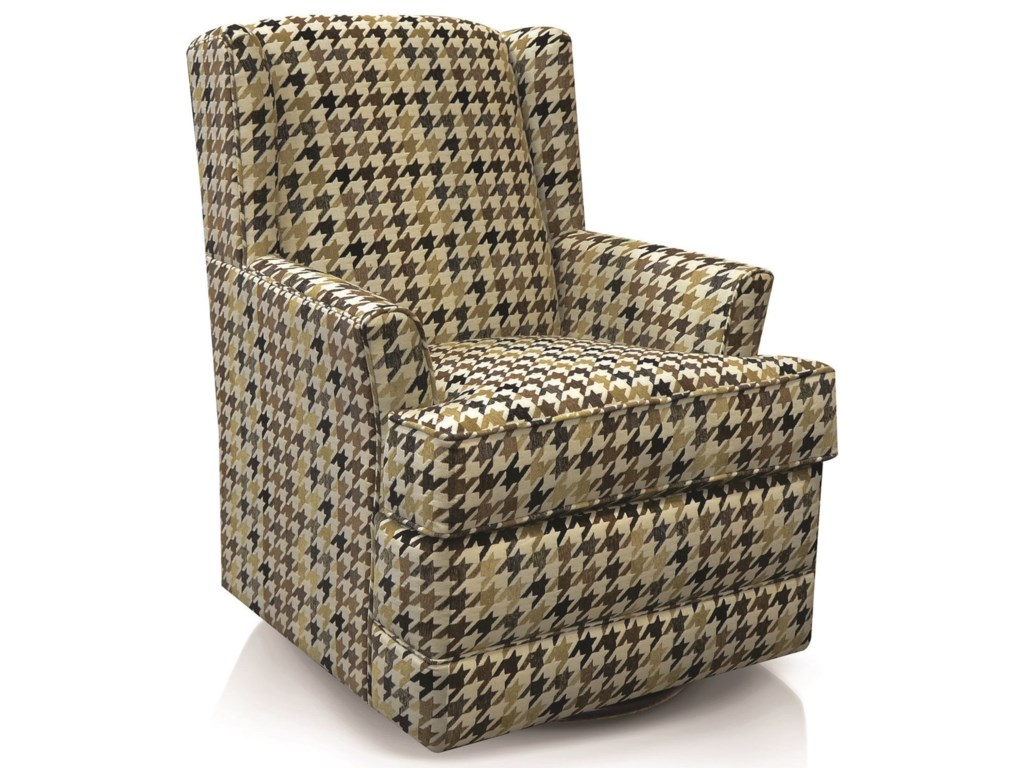 England ValerieCasual Styled Swivel Chair