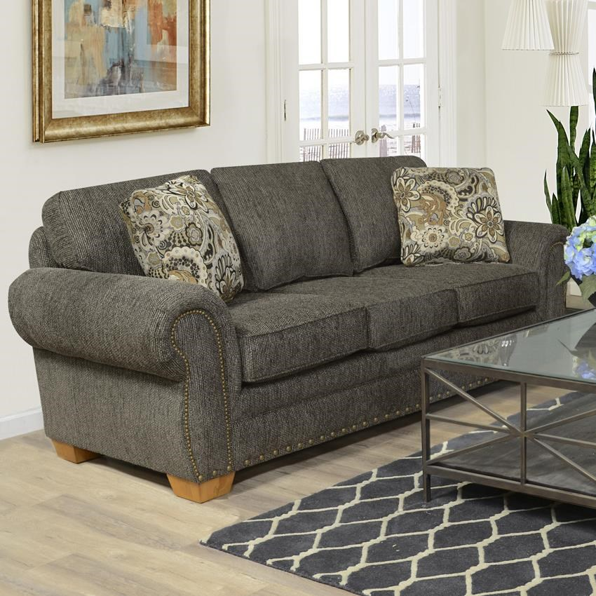 Perfect England Walters Sofa With Nailhead Trim