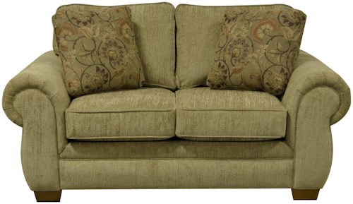 England Walters Loveseat with Traditional Style
