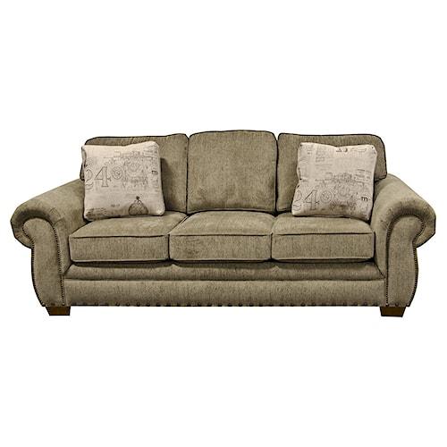 England Walters Sofa Sleeper With Nailhead Trim