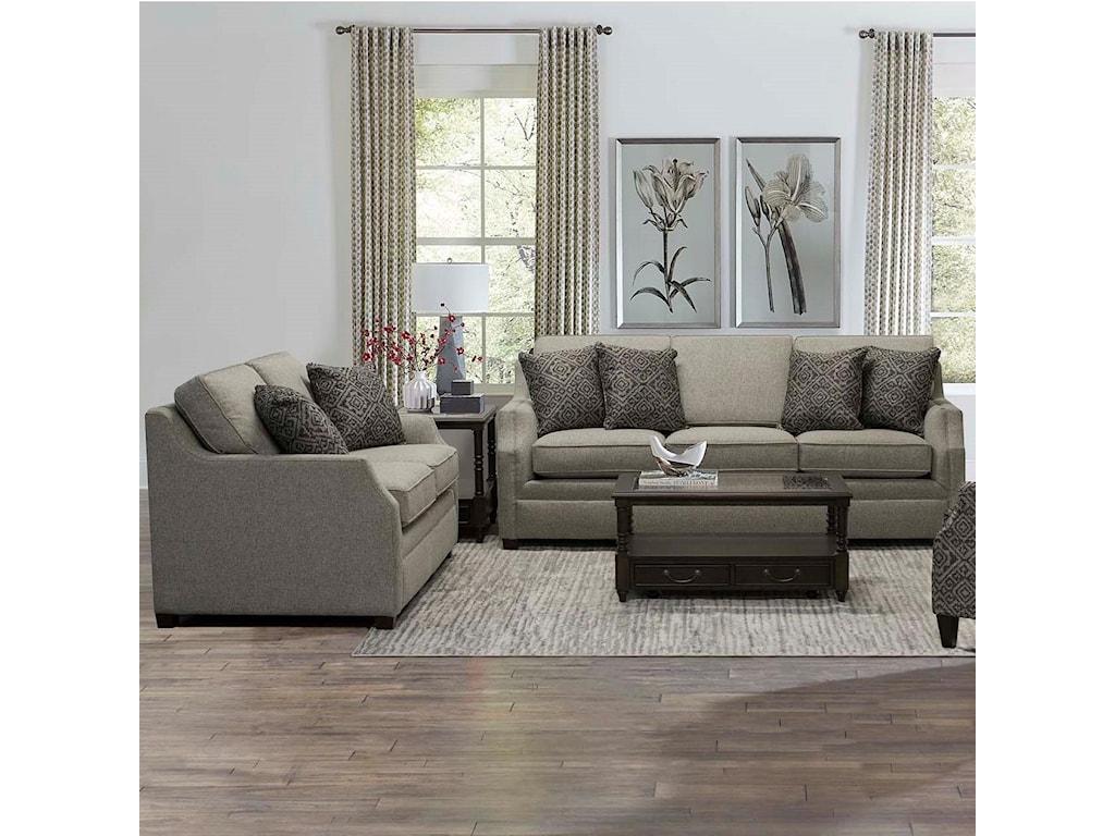England WilderStationary Living Room Group