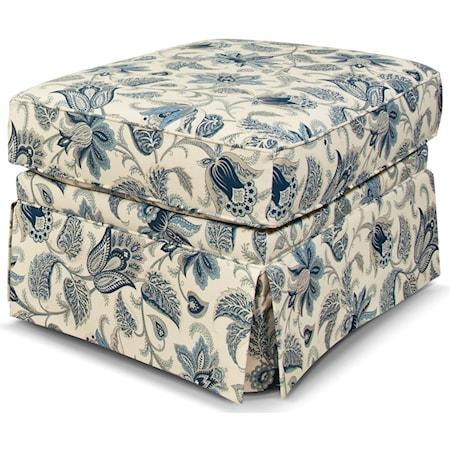 Box Top Ottoman