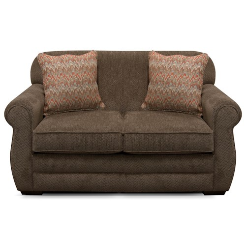 England Xaviar Loveseat with Casual Style