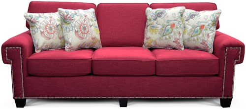 England Yonts Sofa with Nailhead Trim