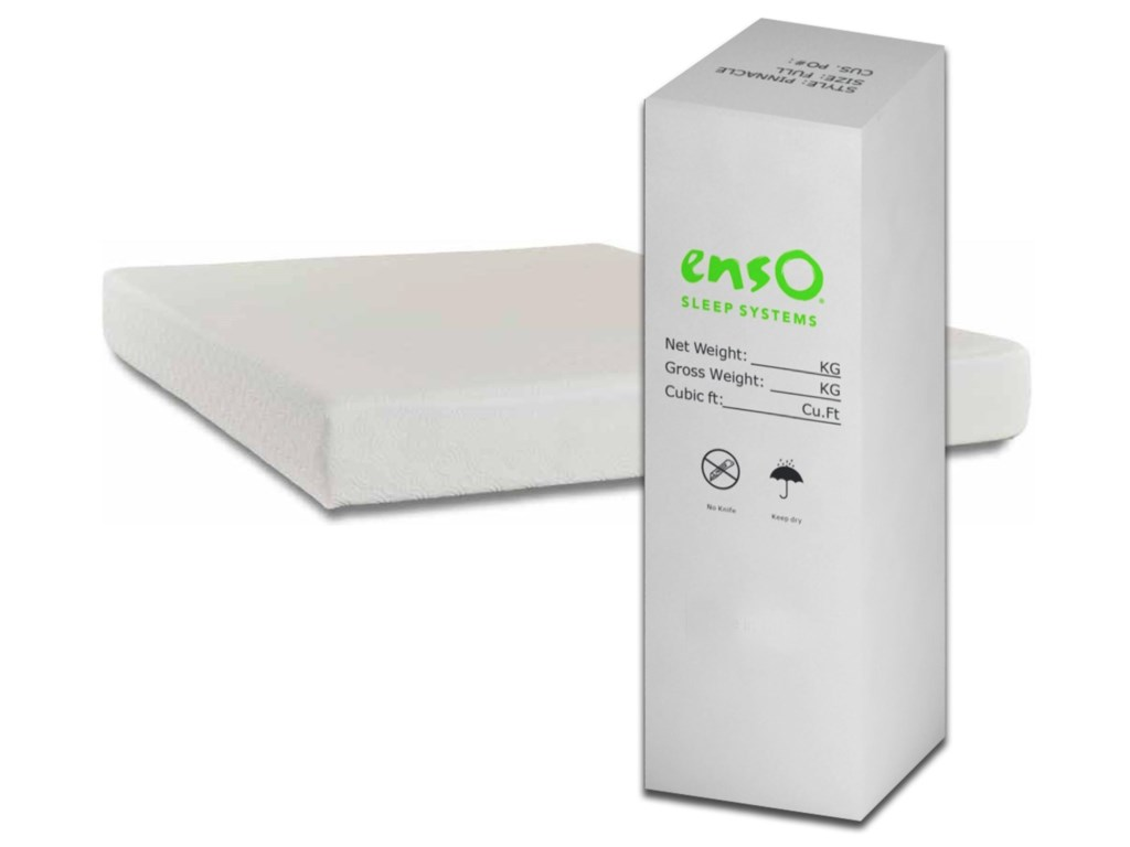 Enso Sleep Systems Allure Bed-in-a-BoxQueen 8
