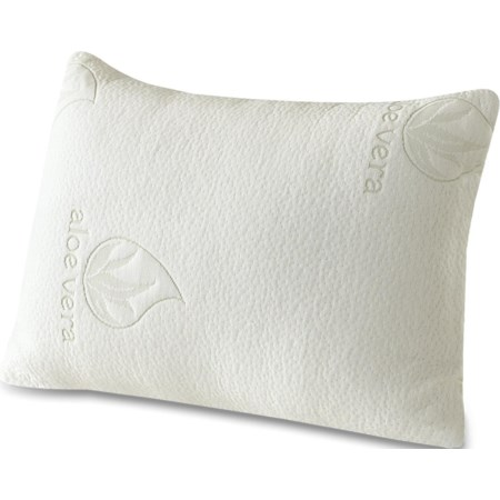 Standard Size Aloe Vera 2 Pack of Pillows