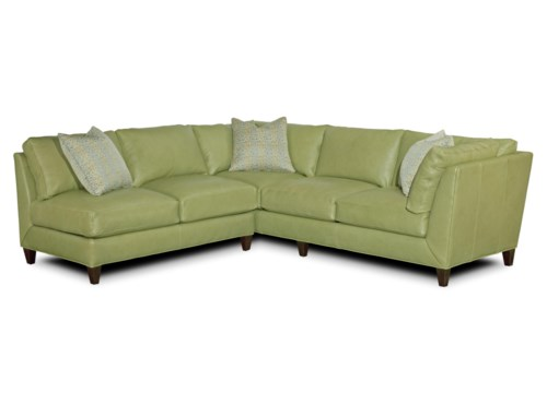 Envision By Bradington Young Wiki Sectional Sofa With One Arm