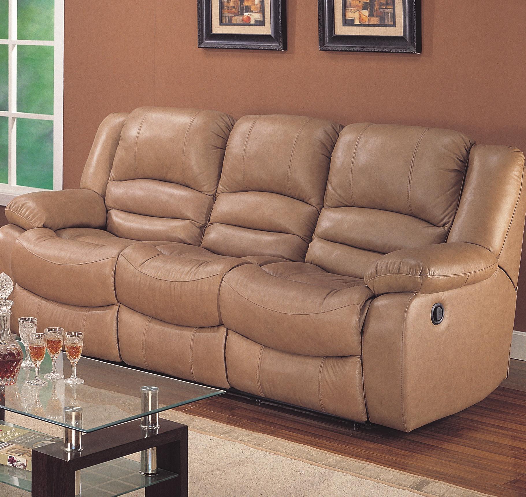 Bon Era Nouveau 18009 Casual Three Seater Dual Reclining Sofa With Lumbar  Support