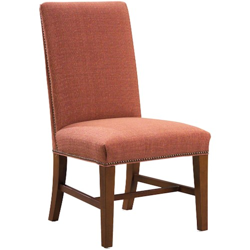 Fairfield 1011  Upholstered Side Chair with Nail Head Trim