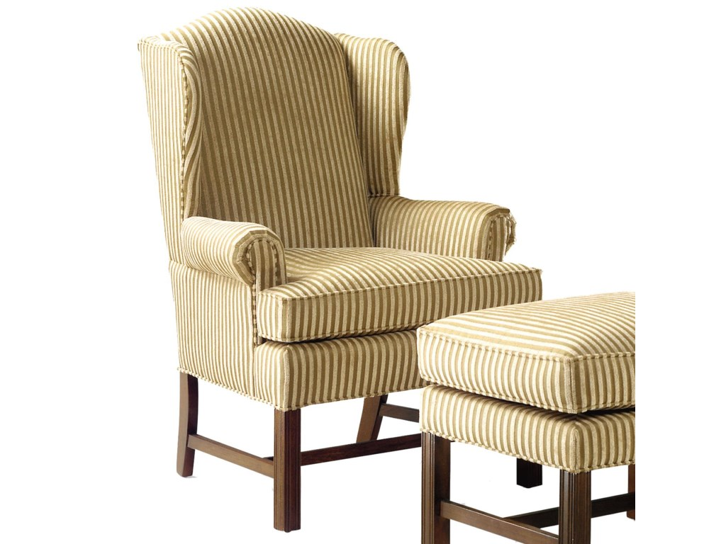 Grove Park 1072Upholstered Wing Chair