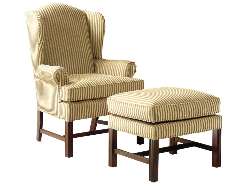 Fairfield 1072Upholstered Wing Chair
