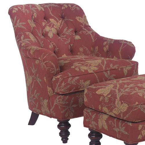 Fairfield 1141 Tufted Back Lounge Chair