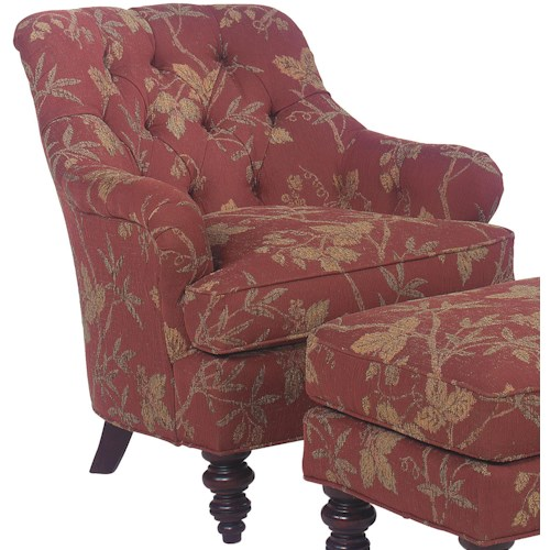 Fairfield 1141 Tufted Back Lounge Chair