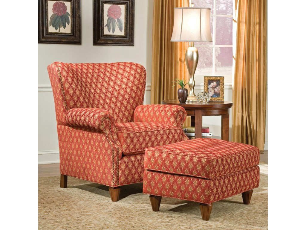 Fairfield 1403Chair and Ottoman