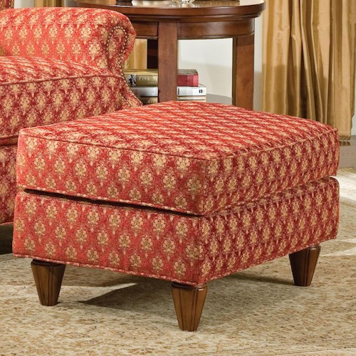 Fairfield 1403 Traditional UpholsteredOttoman