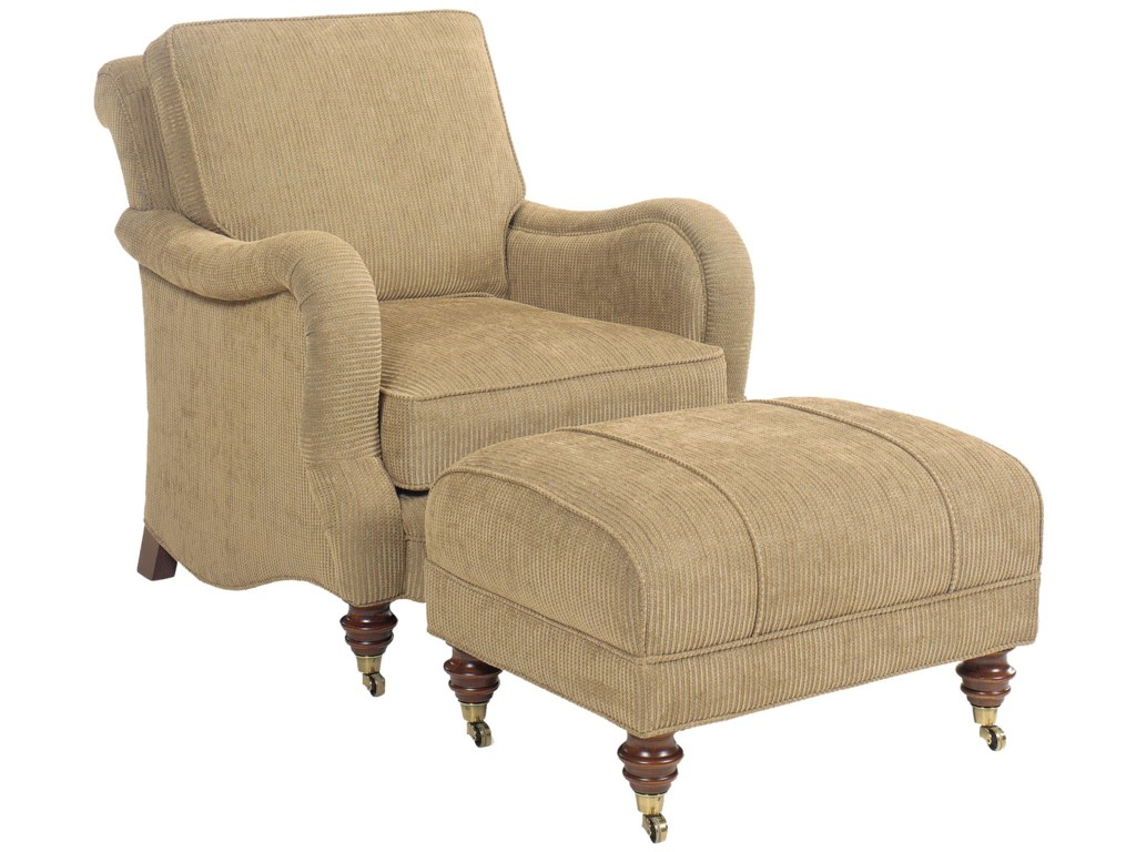 Fairfield 1458Chair and Ottoman