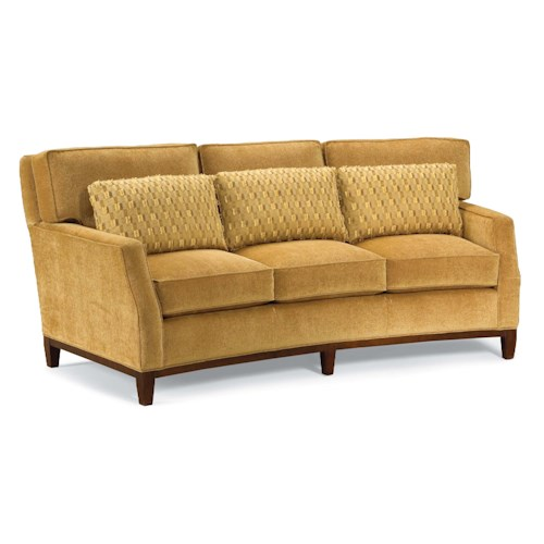 Fairfield 2758 Curved Conversation Sofa