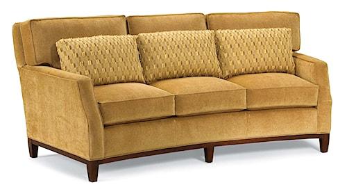 Fairfield 2758 Curved Conversation Sofa