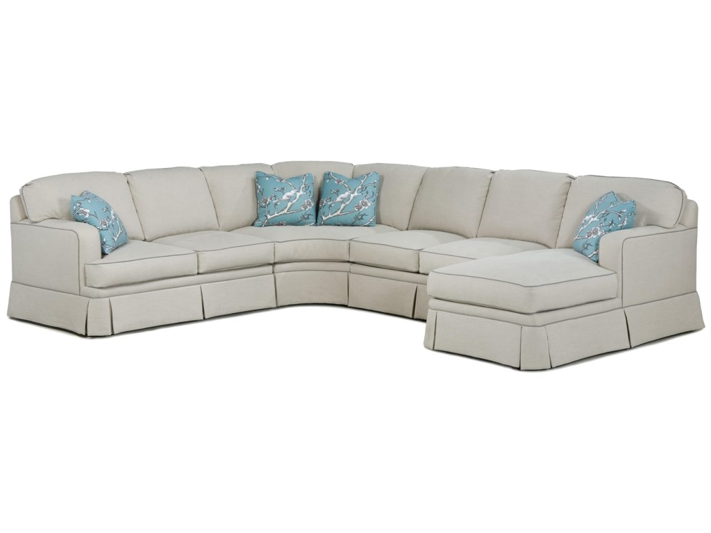 Fairfield 2TKSModern Sectional