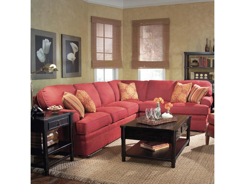 Fairfield 3722Sectional Sofa
